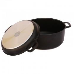 Кастрюля с крышкой-сковородой антипригарная (2 л) К202П